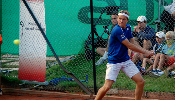 Ruud viser seg fram på hjemmebane i Futures-turnering