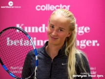 Great win for Andrea Raaholdt against Margaux Deagostini !