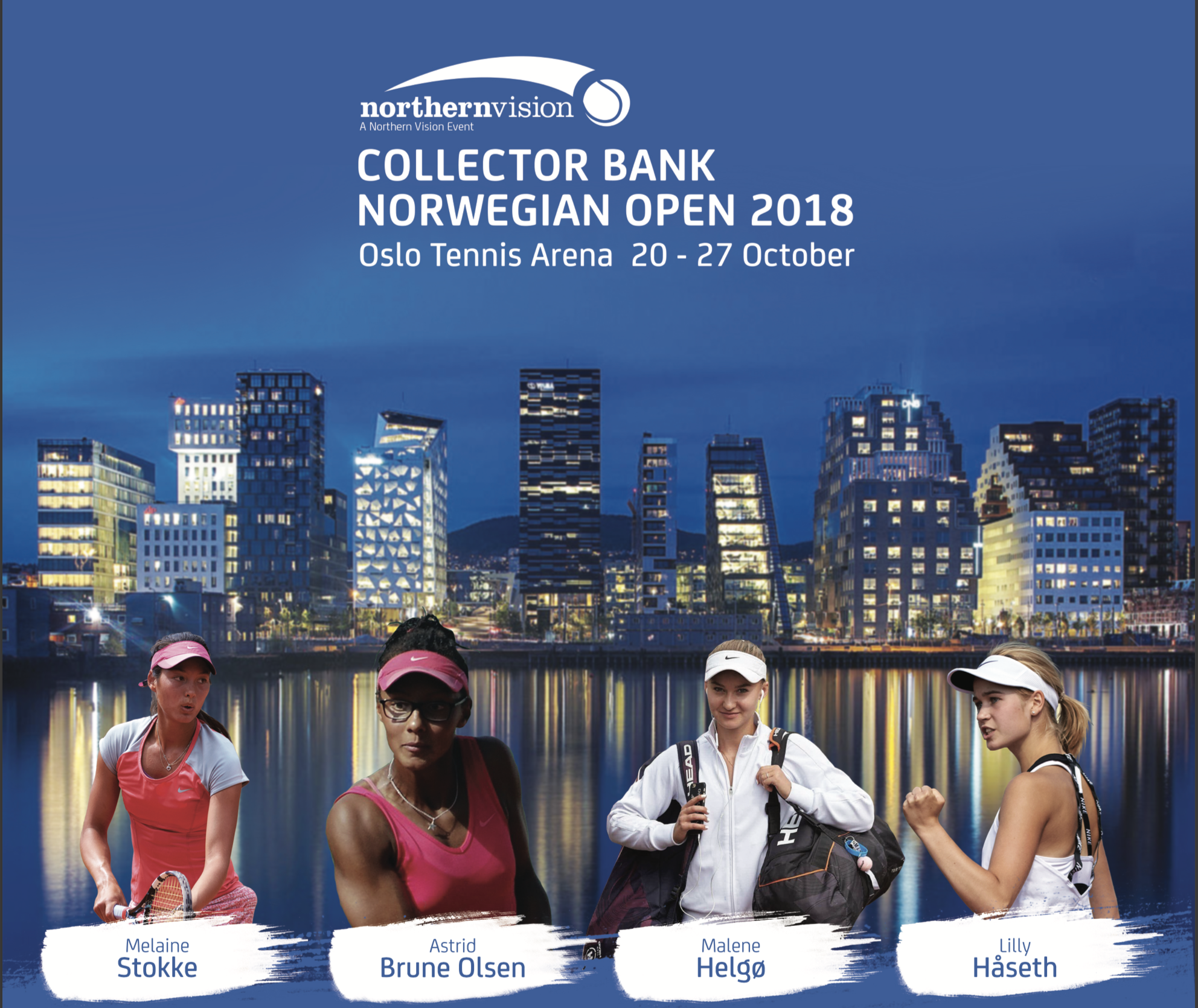 Main draw starts in Oslo !