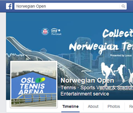 Join Collector Norwegian Open på Facebook